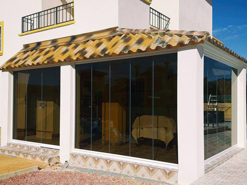 Frameless Glass Enclosures Costa Blanca And Calida